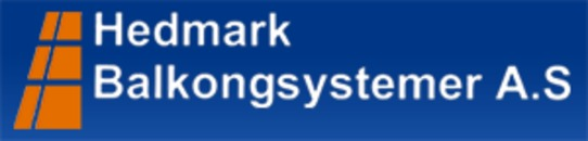 Hedmark Balkongsystemer AS logo
