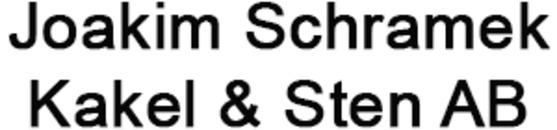 Joakim Schramek Kakel & Sten, AB logo