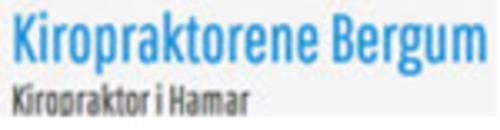 Kiropraktorene Håvard Bergum, Claudia Bergum og Martin Bergum logo