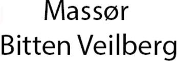 Massør Bitten Veilberg logo