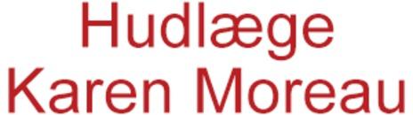 Hudlæge Karen Moreau logo