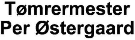Tømrermester Per Østergaard logo