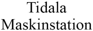 Tidala Maskinstation logo