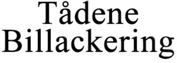 Tådene Billackering logo