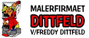 Malerfirmaet Dittfeld logo