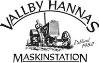 Vallby-Hannas Maskinstation logo
