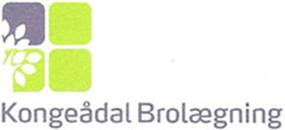 Kongeådal Brolægning logo