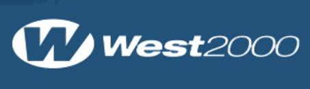 West 2000 AB logo