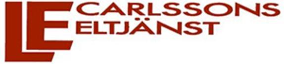 Carlssons Eltjänst Eftr. AB, L-E logo