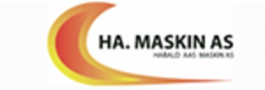 HA.Maskin AS logo