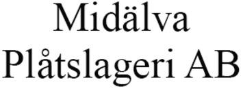 Midälva Plåtslageri AB logo