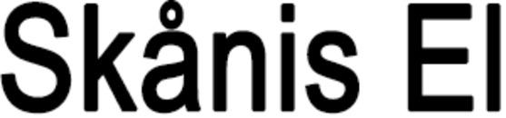 Skånis El logo