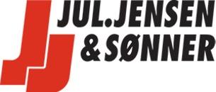 Jul. Jensen & Sønner v/Mogens Nøddelund logo