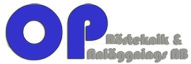 OP Rörteknik & Anläggnings AB logo