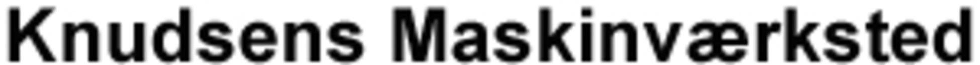 Knudsens Maskinværksted logo