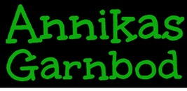 Annikas Garnbod logo