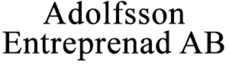 Adolfsson Entreprenad AB logo