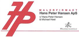 Malerfirmaet Hans Peter Hansen ApS logo