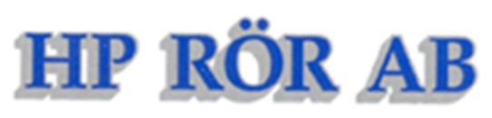 H P Rör AB logo