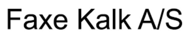 Faxe Kalk A/S logo