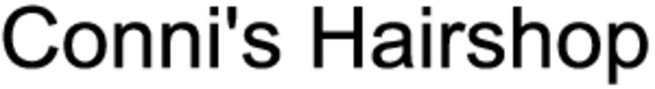 Conni's Hairshop logo