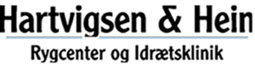 Hartvigsen & Hein Rygcenter og Idrætsklinik logo