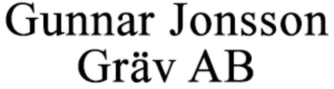 Jonsson Gräv AB, Gunnar logo