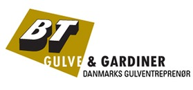 BT Gulve og Gardiner Fredericia logo