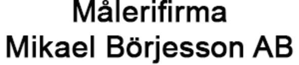 Målerifirma Mikael Börjesson AB logo