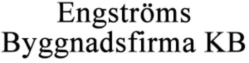 Engströms Byggnadsfirma KB logo