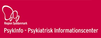PsykInfo, Psykiatrisk Informationscenter, Region Syddanmark logo