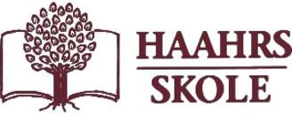 Haahrs Skole logo