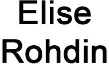 Rohdin Elise logo