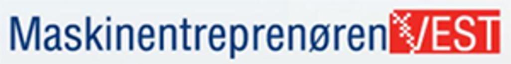 Maskinentreprenøren Vest AS logo