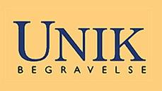UNIK Begravelse logo