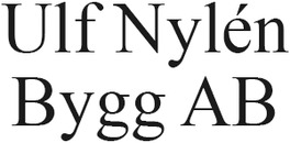 Ulf Nylén Bygg AB logo