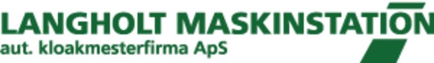 Langholt Maskinstations's Autoriserede Kloakmesterfirma ApS logo