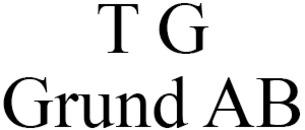 T G Grund AB logo