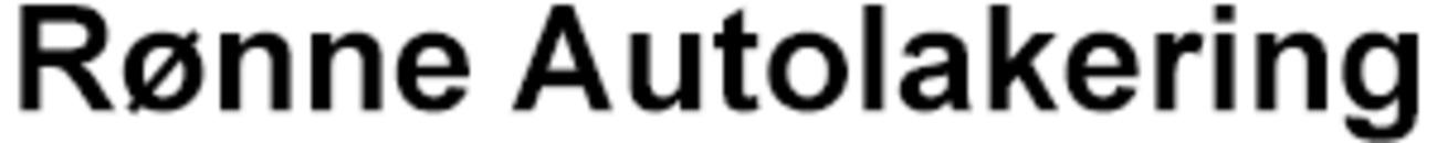 Rønne Autolakering logo
