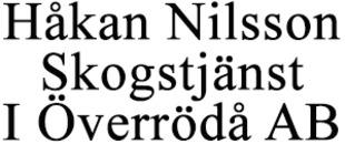 Håkan Nilsson Skogstjänst I Överrödå AB logo