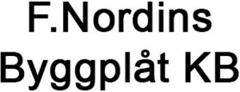F.Nordins Byggplåt KB logo