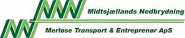 Midtsjællands Nedbrydning, Merløse Transport & Entr. ApS logo