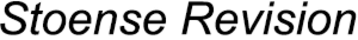 Stoense Revision logo