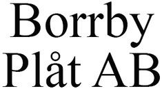 Borrby Plåt AB logo