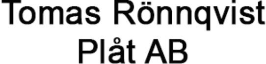 Tomas Rönnqvist Plåt AB logo