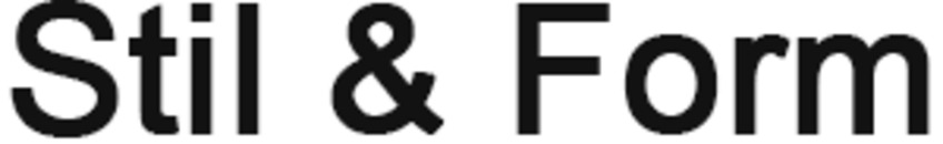 Stil & Form logo