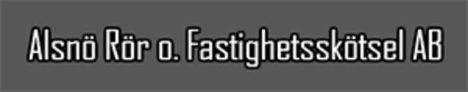 Alsnö Rör & Fastighetsskötsel AB logo