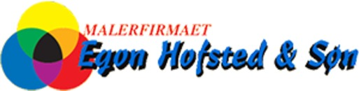 Malerfirmaet Egon Hofsted & Søn logo