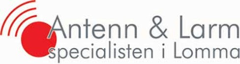 Antenn & Larmspecialisten i Lomma logo
