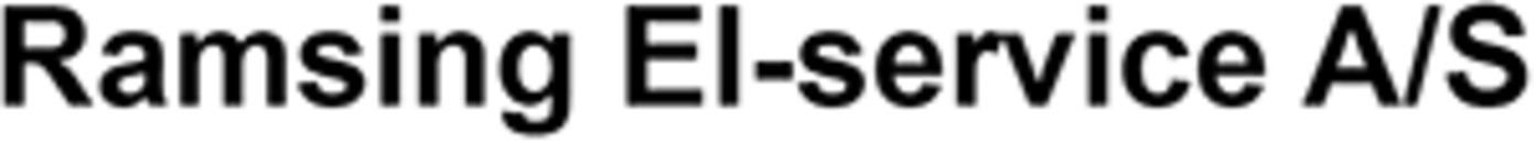 Ramsing El-service A/S logo